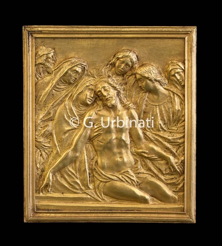 Museo di Rimini Crocifisso d'oro particolare